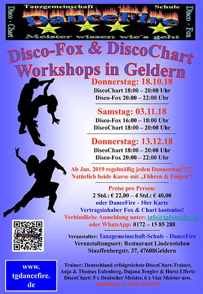 Disco-Fox & DiscoChart Workshops in Geldern